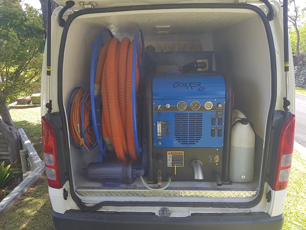 For Sale Carpet Cleaning Van With Truck Mount Machinery